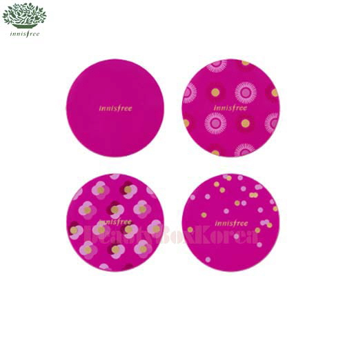 INNISFREE My Cushion Case - Hot Pink Case 4colors 1ea[Pink Limitd Edition]